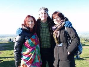 Petr,Mirka a já po ukotvování 9.brány na Toru