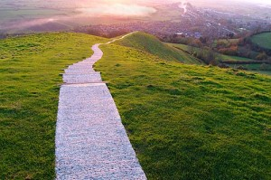 glastonbury-tor-path