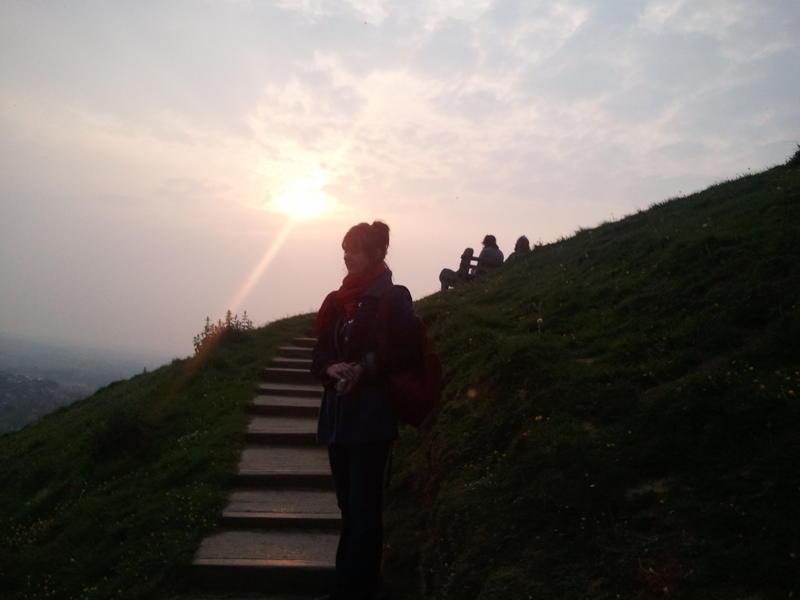 zapad Slunce na Toru 29.4.2011